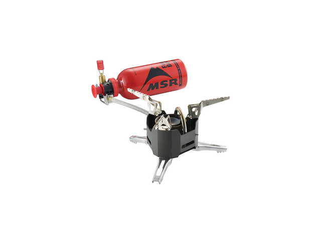 MSR XGK EX - Réchaud mutlicombustible - noir
